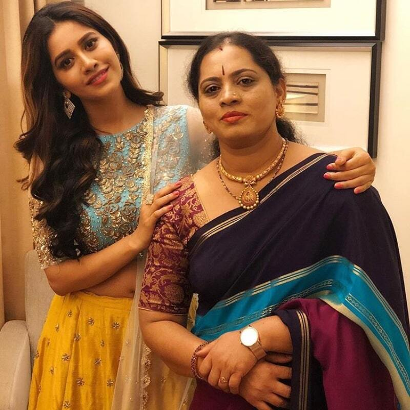 Nabha Natesh Mother